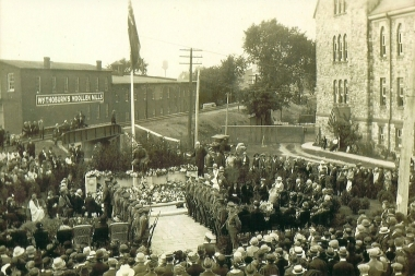 1923 War Memorial Dedication 1