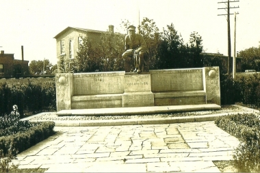 1923 War Memorial Dedication