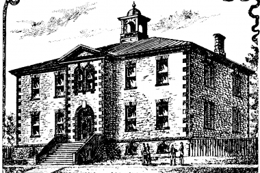 Almonte High School Lithograph