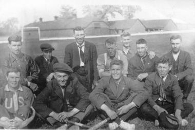 Bennies Corners Baseball Team At Nlas Grounds 1920