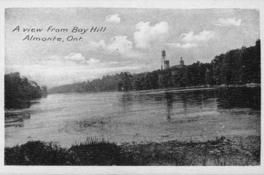 View From Bay Hill Downriver