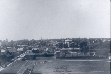 View Of Racetrack At Fairgrounds