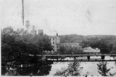 View Towards Rosamond Number1 Mill 1943