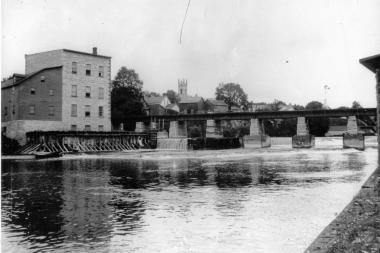 CPR Bridge Flour Mill C1910